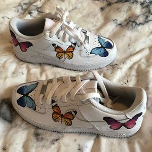 Nike Air Force 1 Butterfly Effect